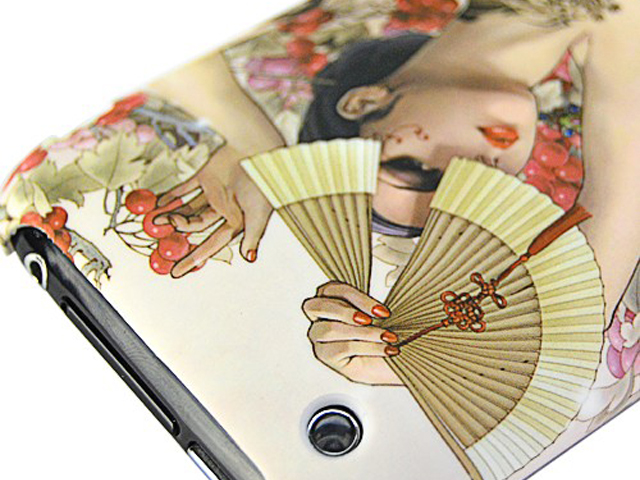 Asian Beauty Back Case Hoesje voor iPhone 3G/3GS