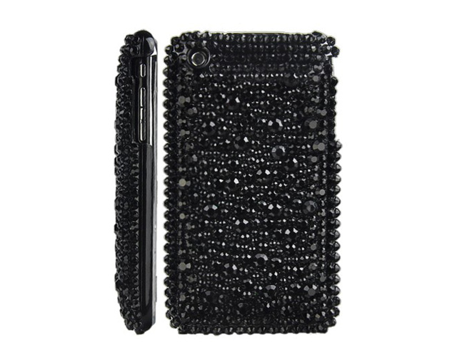 Black Pearl Diamond Case voor iPhone 3G/3GS