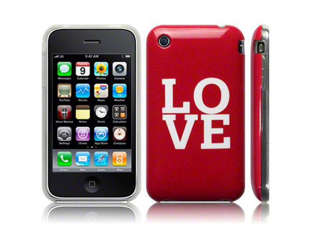 Call Candy 'LOVE' TPU Hoesje voor iPhone 3G/3GS
