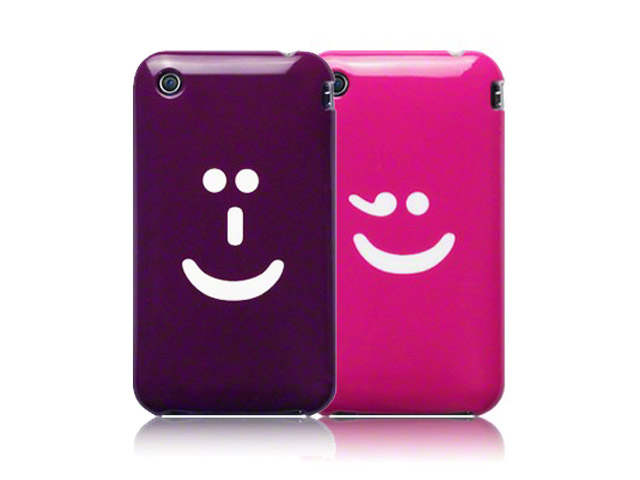 Call Candy Smiley TPU Hoesje voor iPhone 3G/3GS