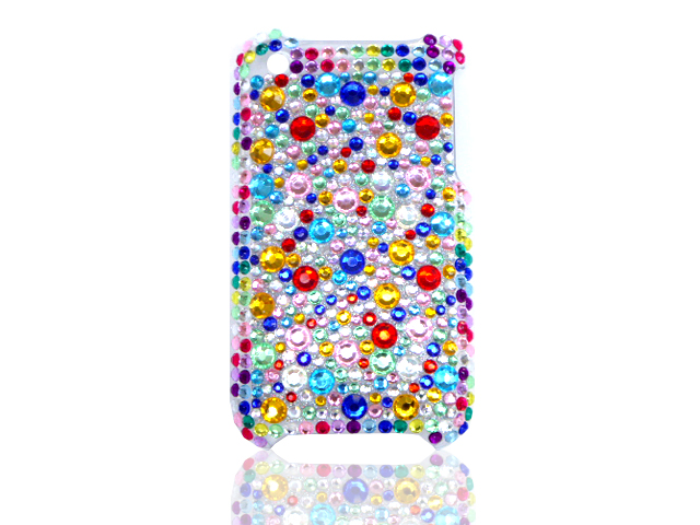 Confetti Diamond Back Case Hoes voor iPhone 3G/3GS