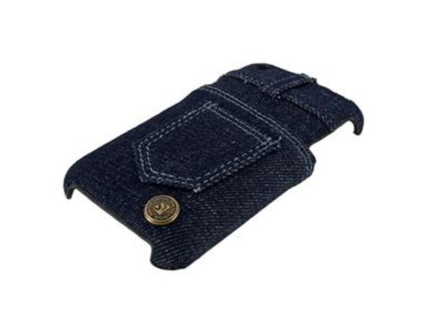 Denim Jeans Case Hoesje Cover voor iPhone 3G/3GS