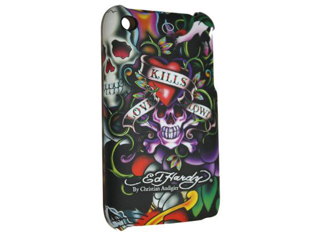 Ed Hardy Tattoo 'LKS' Case Hoesje iPhone 3G/3GS