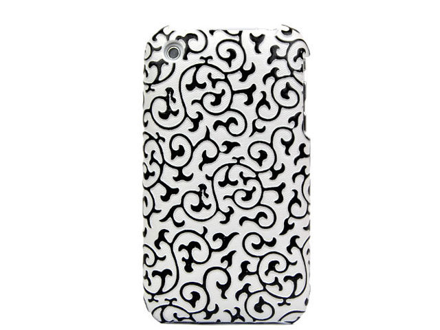 Fine Decorated Back Case Hoes voor iPhone 3G/3GS