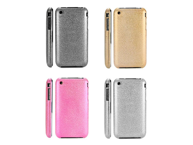 Glittery Back Case Hoes voor iPhone 3G/3GS