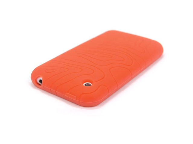 Grip Groove Silicone Hoes voor iPhone 3G/3GS