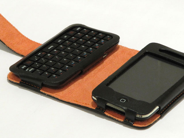 Keyboard Kunstleren Sideflip Case voor iPhone 3G/3GS