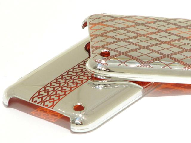 Engraved Silver Case Hoesje voor iPhone 3G/3GS