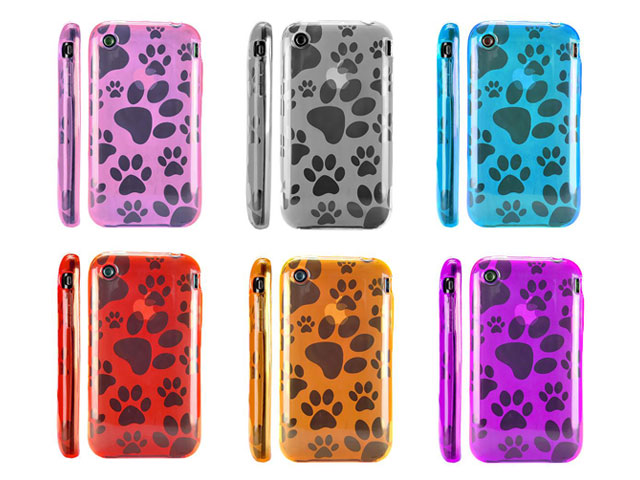 Doggy Series TPU Case Hoes voor iPhone 3G/3GS