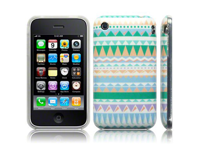 CaseBoutique Aztec Soft Case Hoesje voor iPhone 3G/3GS