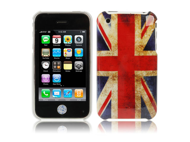 Great Brittain Vintage Flag Case Hoes voor iPhone 3G/3GS