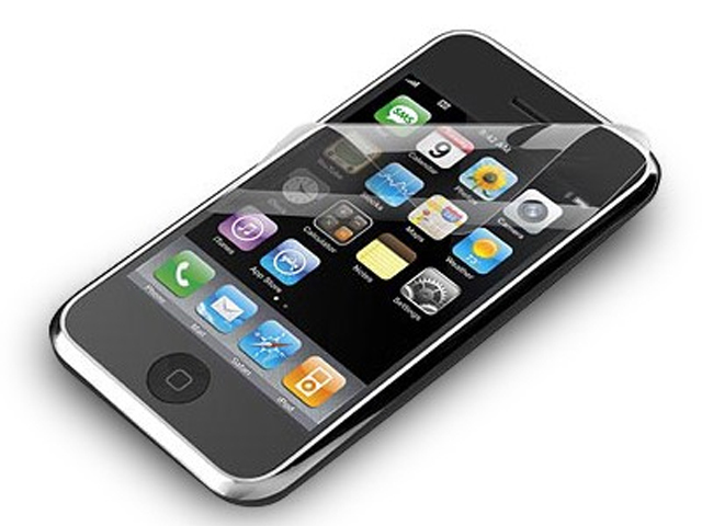 Anti-Fingerprint Screenprotector iPhone 3G/3GS