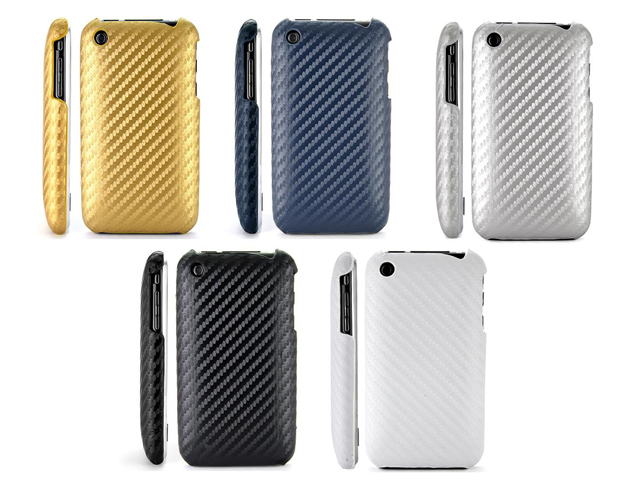 Carbon Back Case voor iPhone 3G/3GS