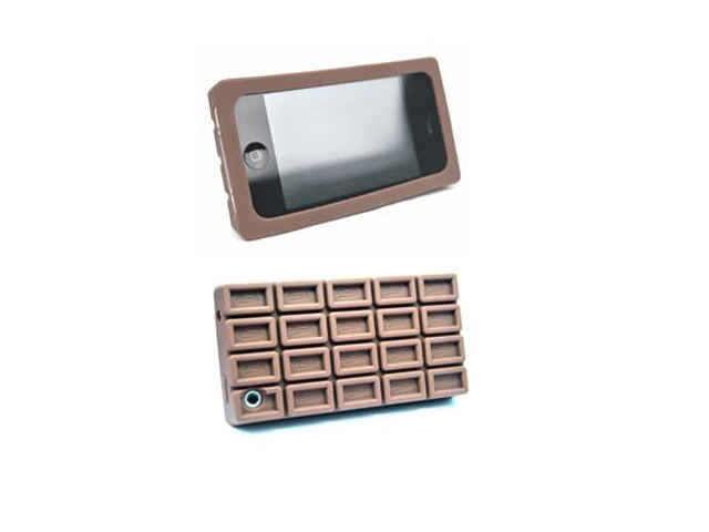 Chocolade Silicone Skin Hoes voor iPhone 3G/3GS