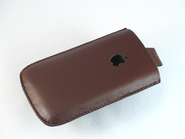 iPhone Lederen Sleeve / Holdster (Type 2)
