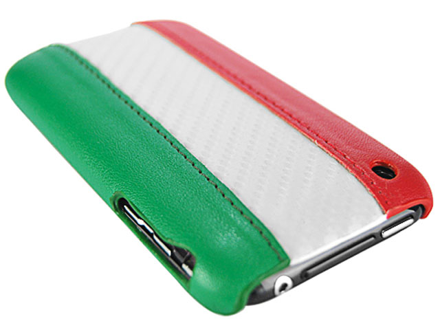 Italië WK Leather Carbon Case