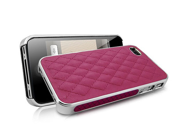 Coco Leather Case - iPhone 4/4S hoesje