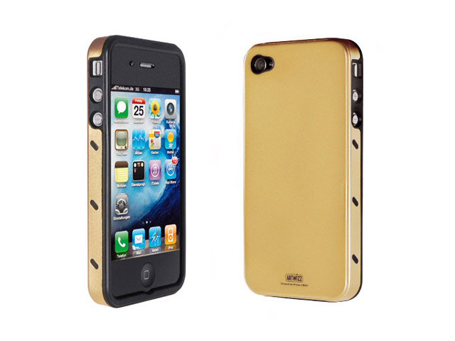 Artwizz SeeJacket Alu Case Hoesje voor iPhone 4/4S