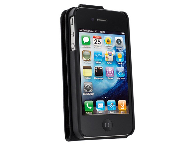 Artwizz Seejacket Leather Flip Case Hoes voor iPhone 4/4S