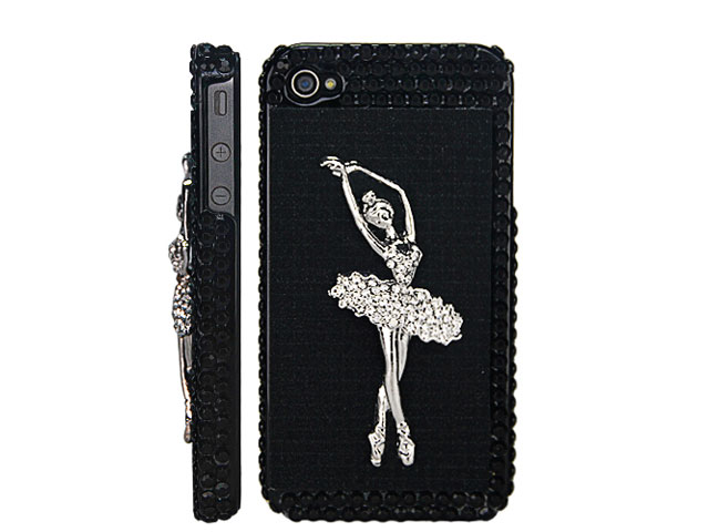 Ballerina Jewel Case Hoesje voor iPhone 4/4S