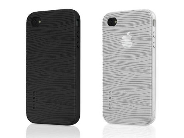 Belkin Grip Groove Duo-pack skins voor iPhone 4