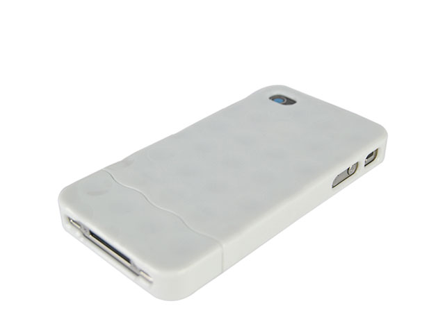 Bubble Slider Hard Case Hoes voor iPhone 4