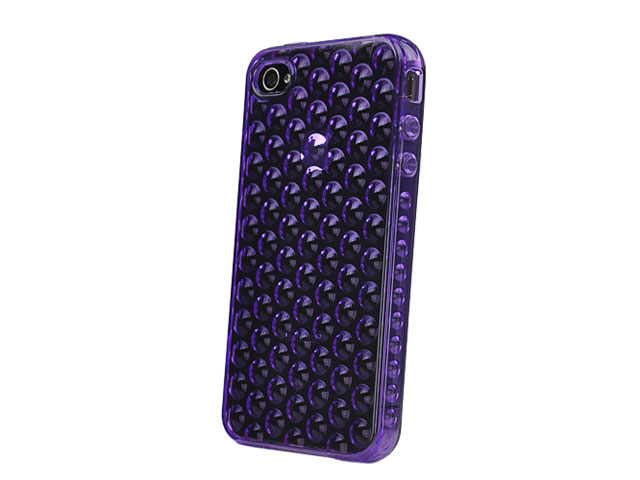 Bubbles TPU Case Hoesje voor iPhone 4