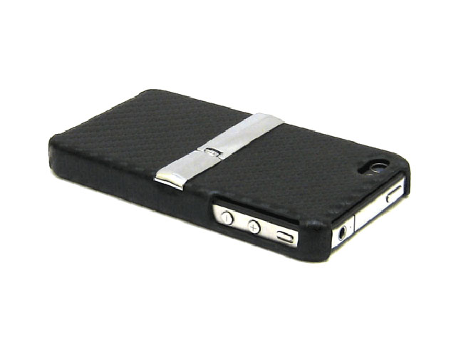 Brace Carbon Kickstand Back Case Hoes iPhone 4/4S