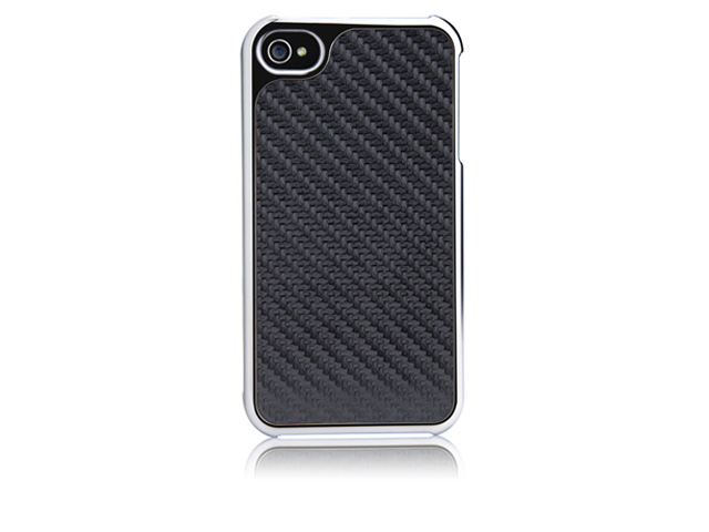 Case-Mate Barely There 2 - Carbon Case Hoes iPhone 4/4S