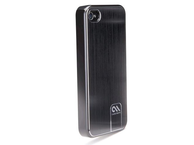 Case-Mate Barely There Brushed Alu voor iPhone 4/4S