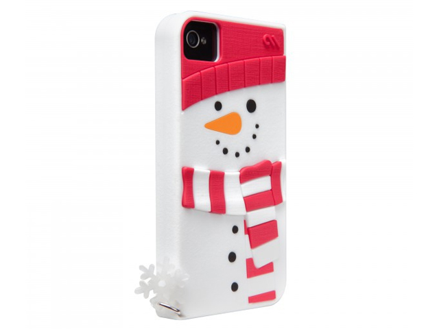 Case-Mate Creatures - Snowman- Skin Case iPhone 4/4S
