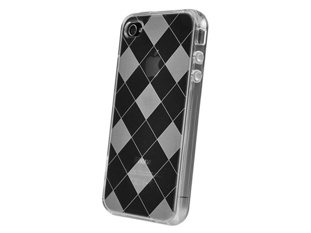 Checkmate TPU Case Hoesje voor iPhone 4