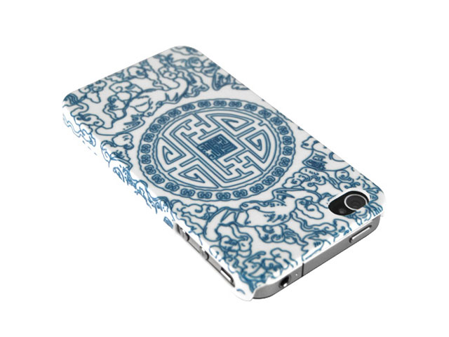 Chinese Porcelain Back Case voor iPhone 4/4S
