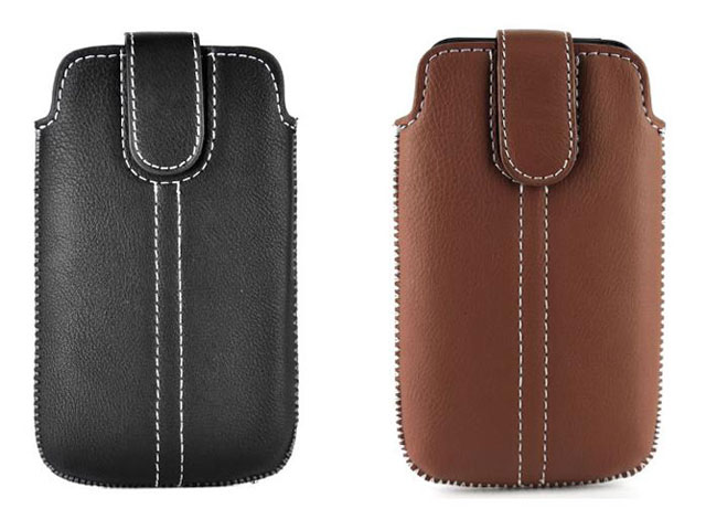 Classic Leather Sleeve Case voor iPhone