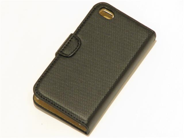 Classic Faux Leather Case Hoes voor iPhone 4/4S