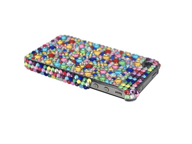 Confetti Diamond Back Case Hoes voor iPhone 4/4S
