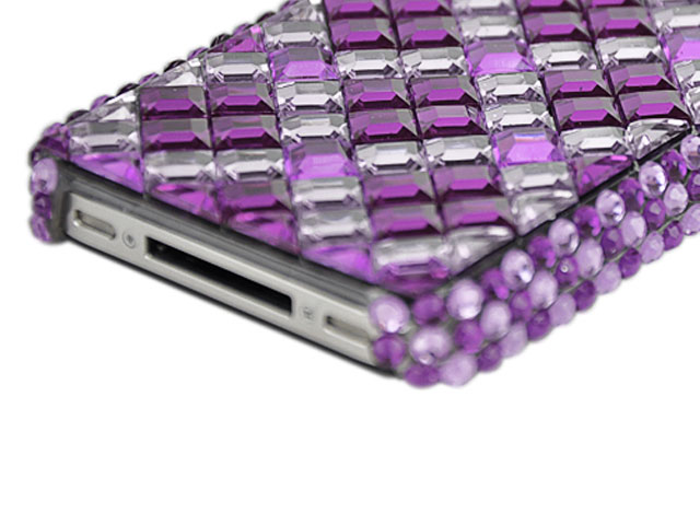 Crystal Diamond Back Case Hoes voor iPhone 4/4S