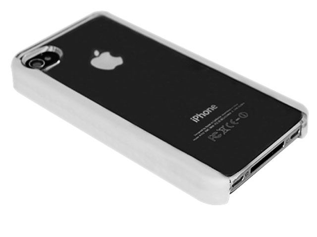 Crystal Case Hoes met Silicon Sides voor iPhone 4/4S