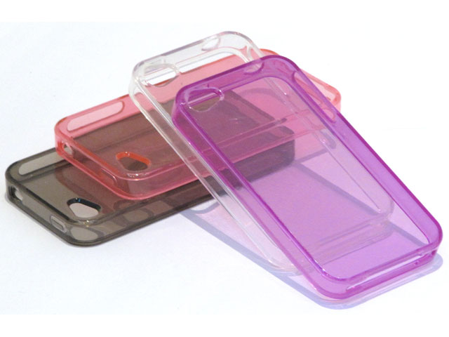 Crystal TPU Case Hoesje voor iPhone 4/4S
