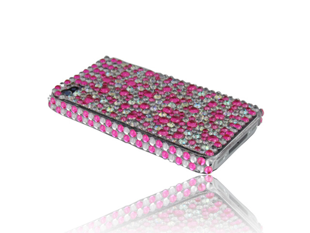 Dashing HQ Diamonds Case Hoes voor iPhone 4/4S
