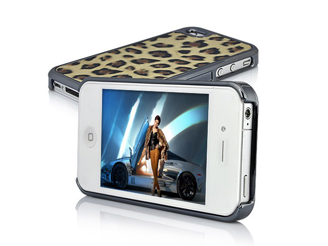Deluxe Safari Hard Case Hoes voor iPhone 4/4S