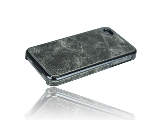 Deluxe Vintage Leather Hard Case Hoes iPhone 4/4S