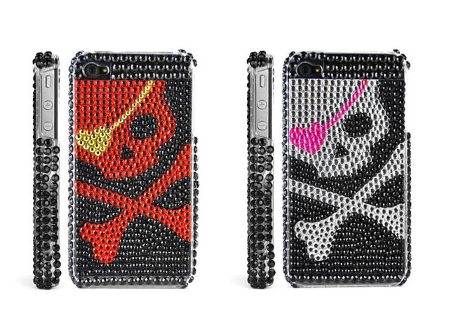 Diamond Love Skull Case voor iPhone 4/4S