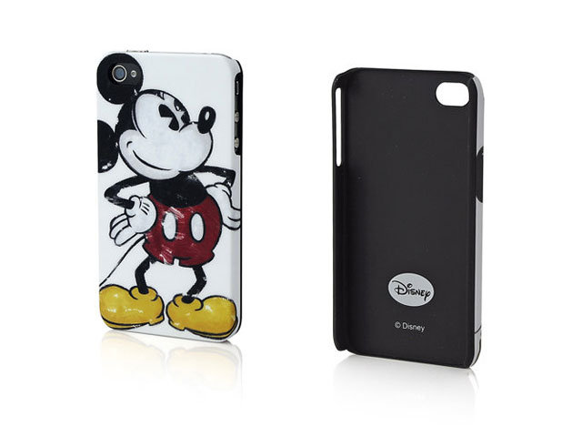 Disney Mickey Mouse Back Case Hoes voor iPhone 4/4S