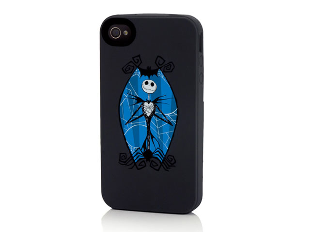 Disney Jack Skellington Silicone Skin Case voor iPhone 4/4S