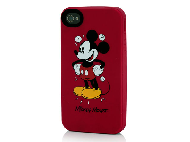 Disney Mickey Mouse Silicone Skin Case voor iPhone 4/4S