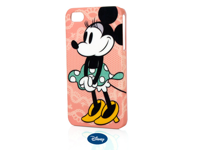 Disney Vintage Minnie Mouse Case Hoes voor iPhone 4/4S