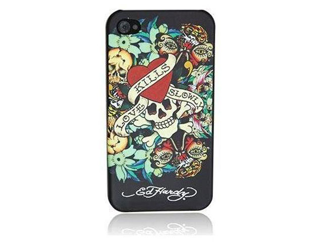 Ed Hardy Tattoo 'LKS' Case Hoesje voor iPhone 4/4S