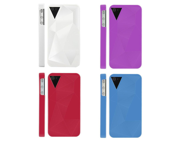 Facets Back Case Hoes voor iPhone 4/4S