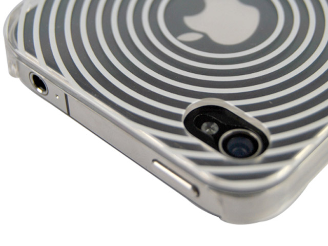 Colorful Fingerprint Back Case voor iPhone 4/4S